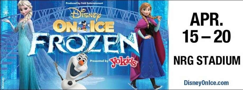Enter a fantastical winter wonderland beyond all imagination as Disney On Ice presents Frozen! April 15-20 at NRG Stadium.