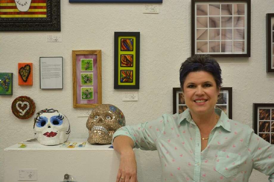 Friday nights reveal coincides with a preview reception for the April featured artists Rachel Stokes of Galveston.