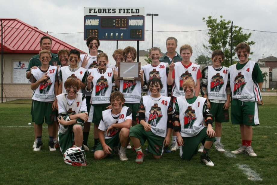 The Woodlands' junior high lacrosse program completed a Triple Crown at theGreater Houston Youth Lacrosse Association tournament. Photo: Courtesy Photo