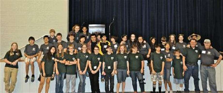 Students from the Creekwood and Riverwood Middle Schools and Kingwood High School (not pictured) Science Olympiad teams were among the top schools in the state competing for the honor to represent Texas at the National Tournament at University of Central Florida in Orlando, Florida, May 16-17.