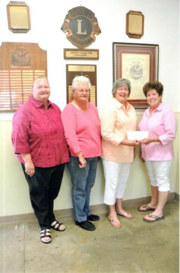Pictured from left, Donna Suggit, Sadie Suggit, Peggy Albert and Patsy Marburger.
