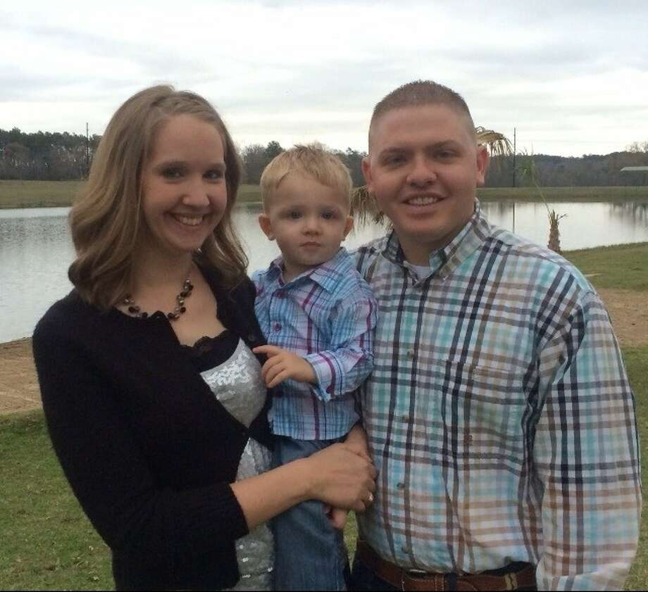 Michael Green is running for Cleveland City Council Position 5 in the May 10 election. Green is pictured with his wife, Kayla, and son, Hunter. Photo: Submitted Photo