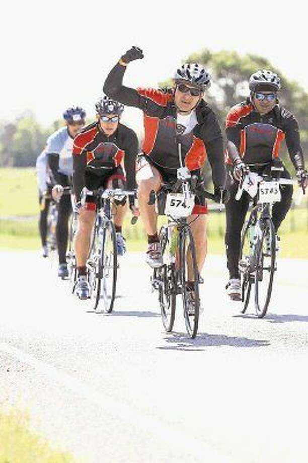 William Thomas of Sugar Land has participated in the BP MS 150 since 2009.