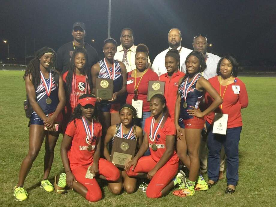 The Cypress Springs High School girls' track and field team won the district team championship with 115 points on April 16 at Cypress Ranch High School.