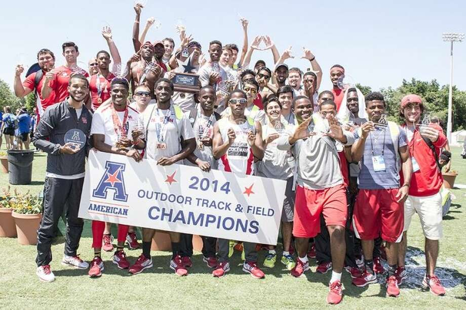 The University of Houston men's track & field team were crowned the 2014 American Athletic Conference OutdoorChampions Sunday afternoon at the USF Track & Field Stadium.