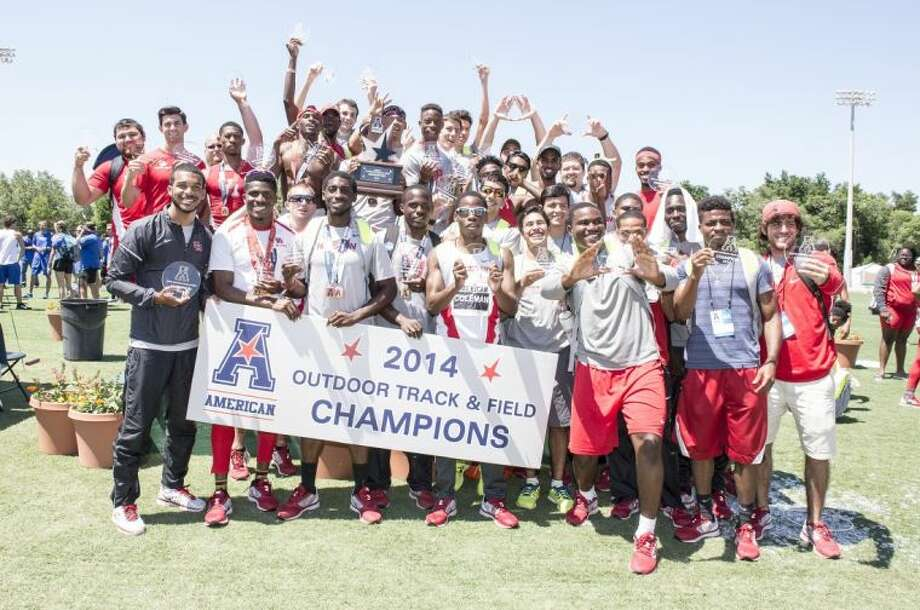 The University of Houston men's track & field team were crowned the 2014 American Athletic Conference Outdoor Champions Sunday afternoon at the USF Track & Field Stadium.
