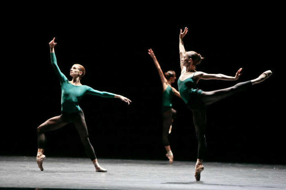"""Artists of the Houston Ballet perform in """"In the middle, somewhat elevated."""" Photo: Photo By Amitava Sarkar"""