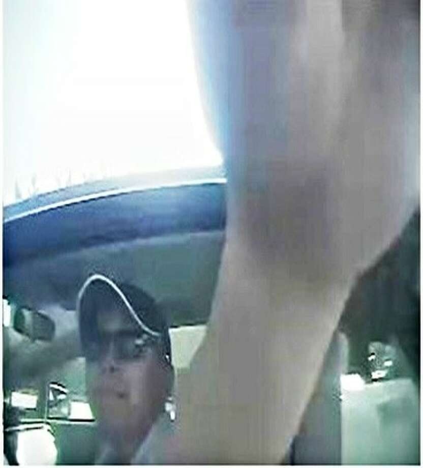 "The Pearland Police Department is seeking the public's help to identify the suspect who used a ""skimming device"" to capture both the debit card information and Personal Identification Number (PIN) during the victims' legitimate transactions at a local fuel station. This information was then used to create ""clone"" debit cards and make fraudulent cash withdrawals from the users' accounts. Photo: Courtesy Pearland Police"