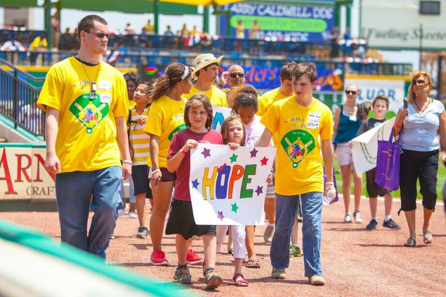 Kids and their families will be allowed to walk the field during the Strike Out Autism day on April 26 at Constellation Field