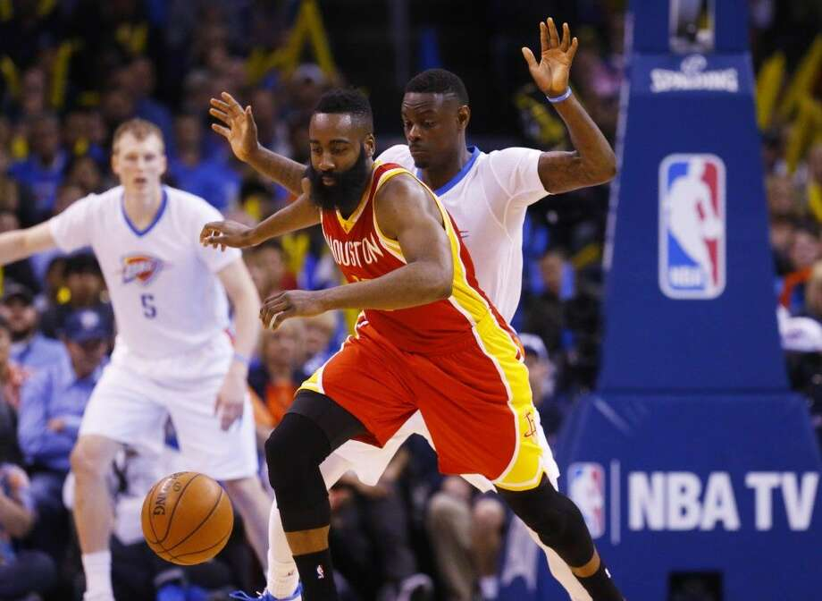 James Harden and the Houston Rockets will open the NBA playoffs by hosting the Dallas Mavericks tonight.