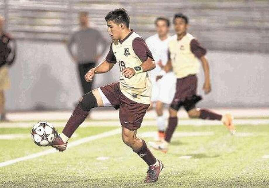 Magnolia West's Miguel Miranda scored 19 goals this season. Photo: Jason Fochtman / Conroe Courier / Houston Community Newspaper