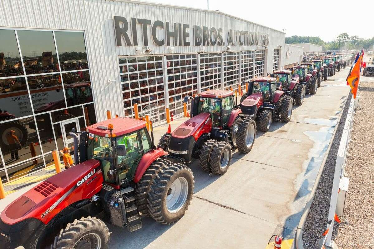 Ritchie Bros., the world's largest industrial auctioneer, sold more than $57 million of equipment and trucks at its unreserved public auction in Houston April 15 - 16, 2015.