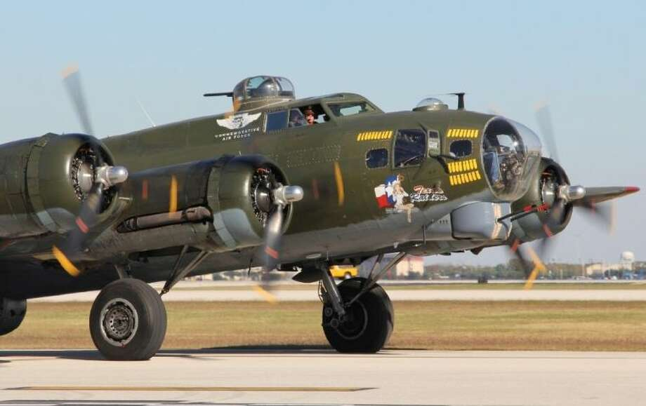 The B-17B Texas Raiders will be at Gill Aviation, 20803 Stuebner Airline Drive, at David Wayne Hooks Airport, to tour the aircraft and talk with her crew on Saturday, May 10. Photo: Submitted Photo