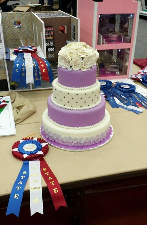 Cy-Fair senior Yanelly Nunez's cake won the highest honor—Best of Best of Show—in Cake Design at the SkillsUSA state competition in Corpus Christi on March 28.