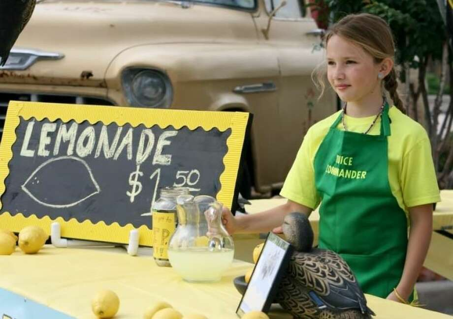 Molly Quin opens her first business on Lemonade Day Houston.