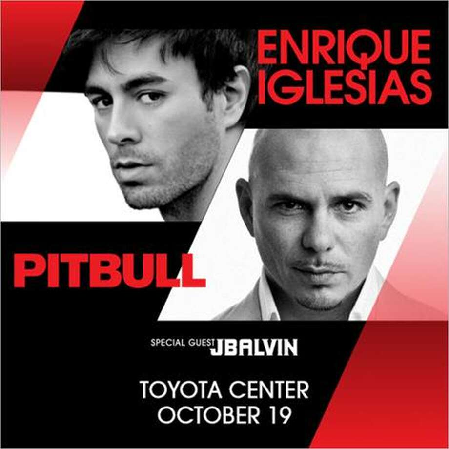 Pitbull and Enrique Iglesias coming to Toyota Center