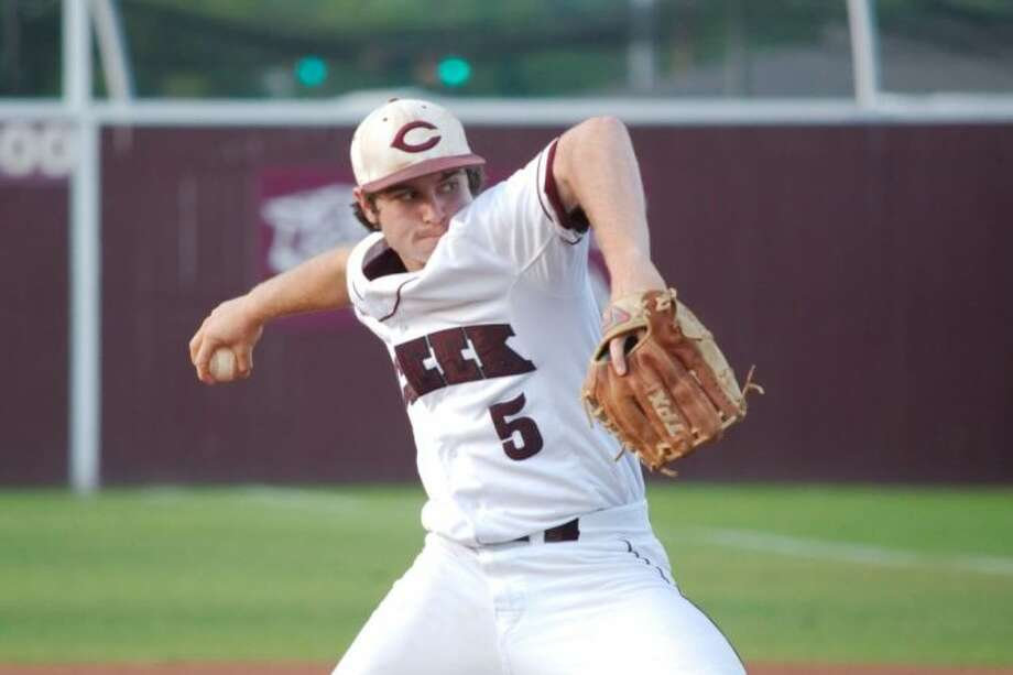 Clear Creek's Zack Esquivel (shown here) along with Aron Solis gave the Wildcats two strong pitching performances in their sweep of Fort Bend Austin last week. Photo: KIRK SIDES