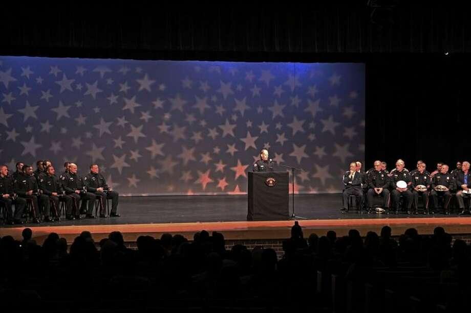 Pasadena Police Dept. Basic Police Academy Graduation Ceremony held last Friday. Photo: KRISTI NIX