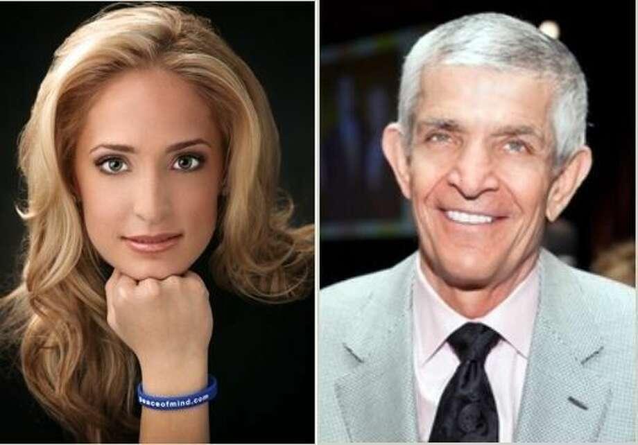 Elizabeth McIngvale-Cegelski (L) and Jim McIngvale will be featured at Mental Health Matters.