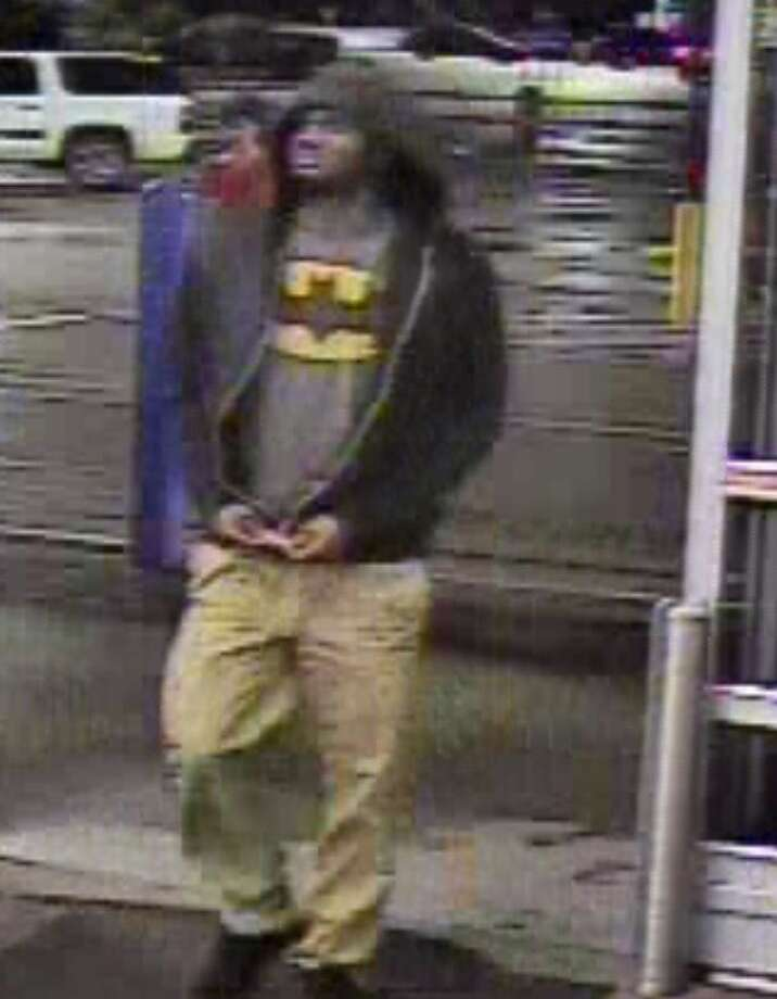 The Montgomery County Sheriff's Office is looking for this man in connection with the robbery of the Wal-Mart located on Sawdust Road.