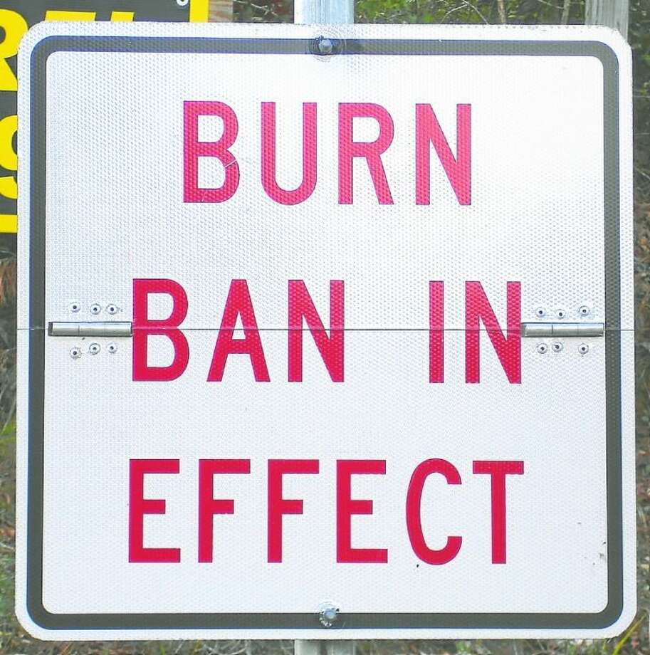 A burn ban for Liberty County is still in effect. Anyone in violation faces a fine of up to $500. Photo: File Photo