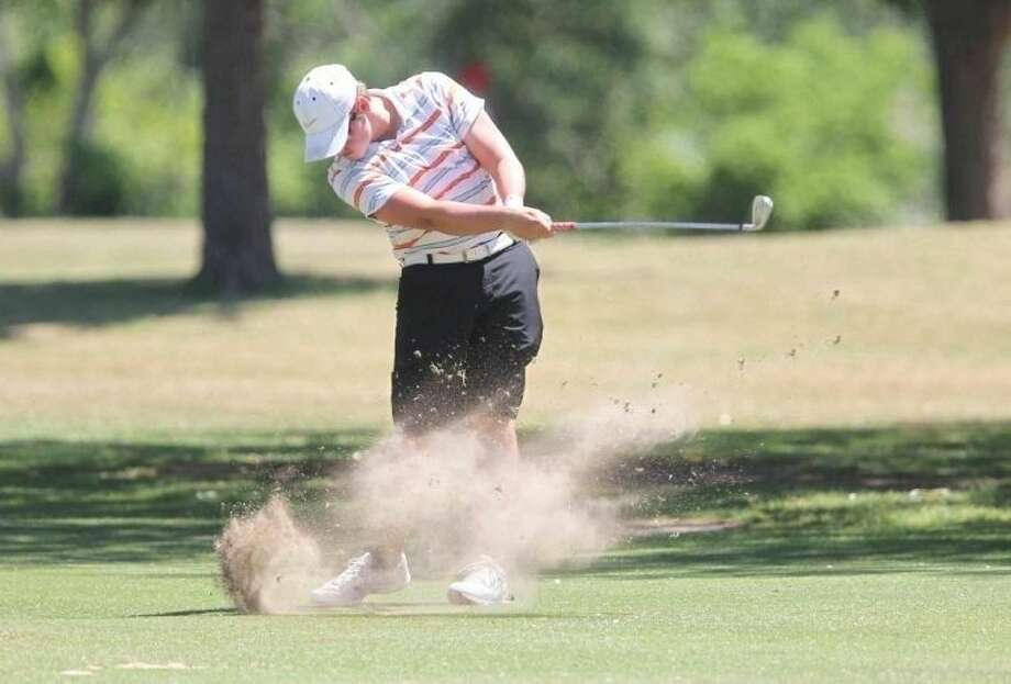 Seven Lakes' Chase Ambrose won the Region III-6A individual championship last week, leading the Spartans to the team title and a repeat trip to the state tournament. Photo: Jason Fochtman