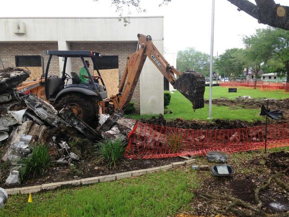 Construction has begun at the Friendswood Public Library. With some modifications, most of the library is open and programs for all ages continue.