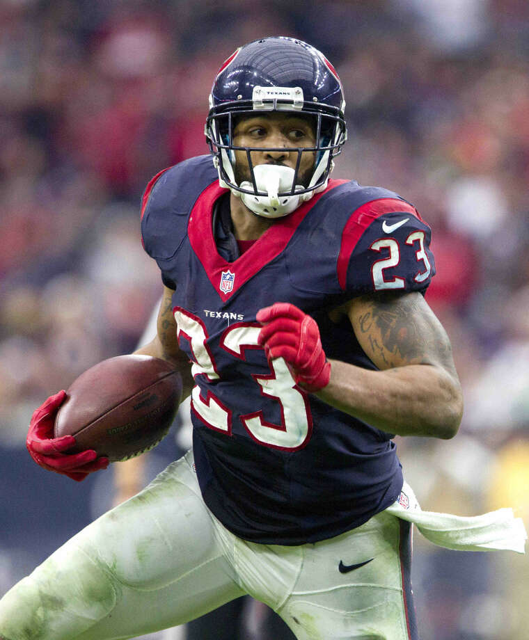 Running back Arian Foster and the Houston Texans open the 2015 season Sept. 13 at home against the Kansas City ChiefSave and closes. Photo: Staff Photo By Jason Fochtman