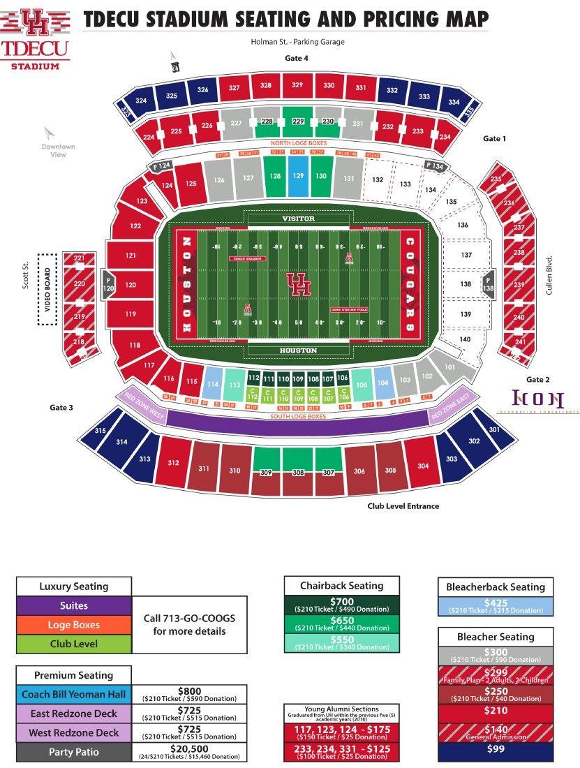 La Gas Prices >> COUGAR FOOTBALL: 2015 University of Houston football ...