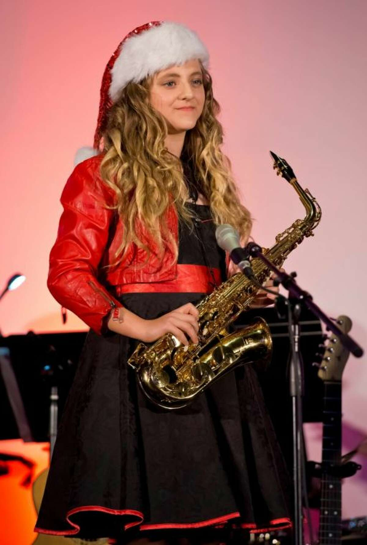 Katerina Sawyer was recently awarded the Music Doing Good Service Award and scholarship.