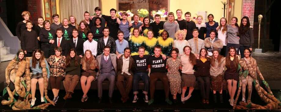 "The cast and crew from The John Cooper Upper School production of ""Little Shop of Horrors"" has been nominated in eight categories, including Best Ensemble, by the 2015 Tommy Tune Awards. Photo: Nigel J Brighton"