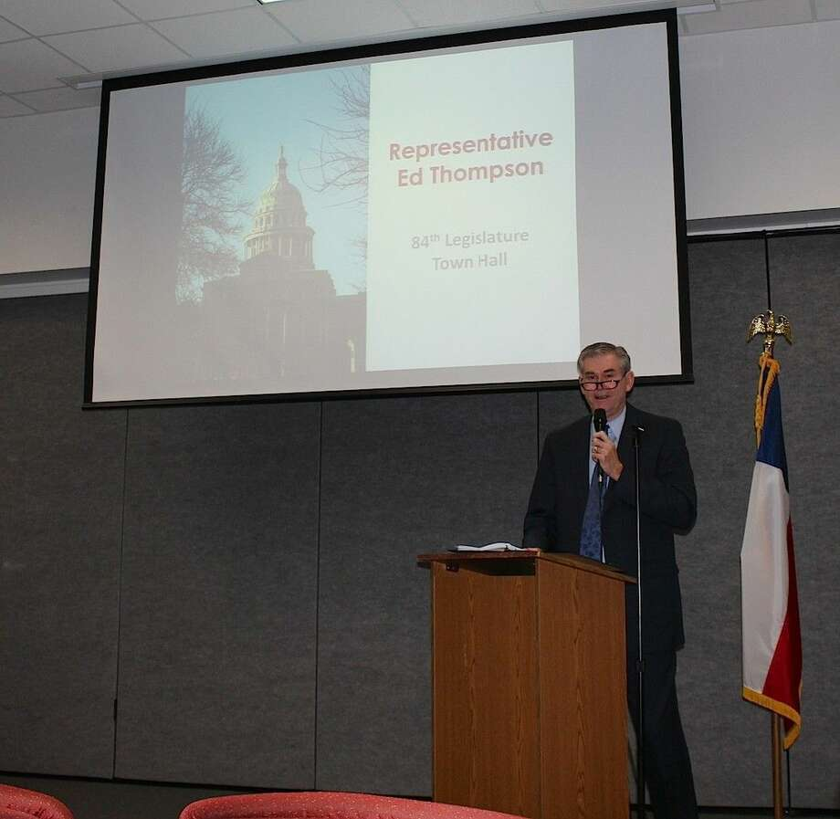 Rep. Ed Thompson shares information from the Legislative Session.