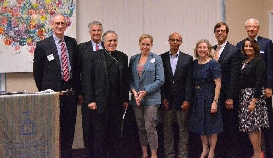 Catholic Charities new board members.