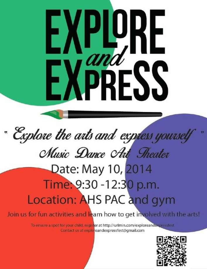 Atascocita High School will host the first Explore and Express Fest Saturday, May 10, from 9:30 a.m.-12:30 p.m. in the Performing Arts Center and Gymnasium.