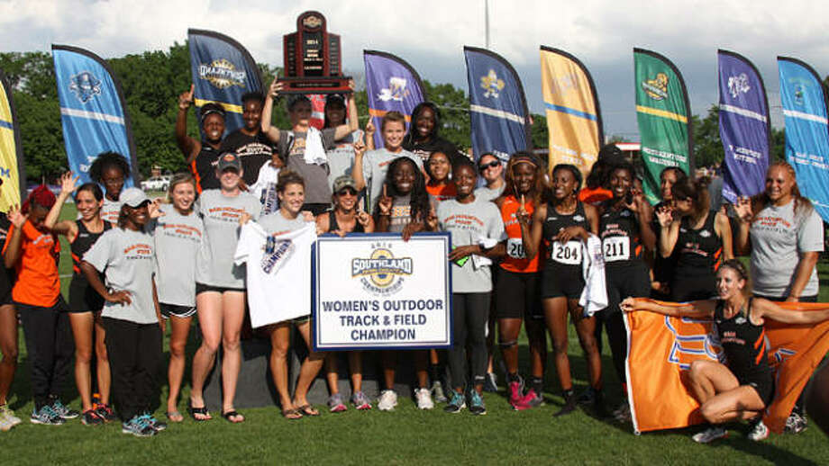 The SHSU women's track and field team won the Southland Conference title over the weekend.