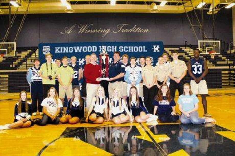 Kingwood High School was chosen as the 6-A award winner for 2014.