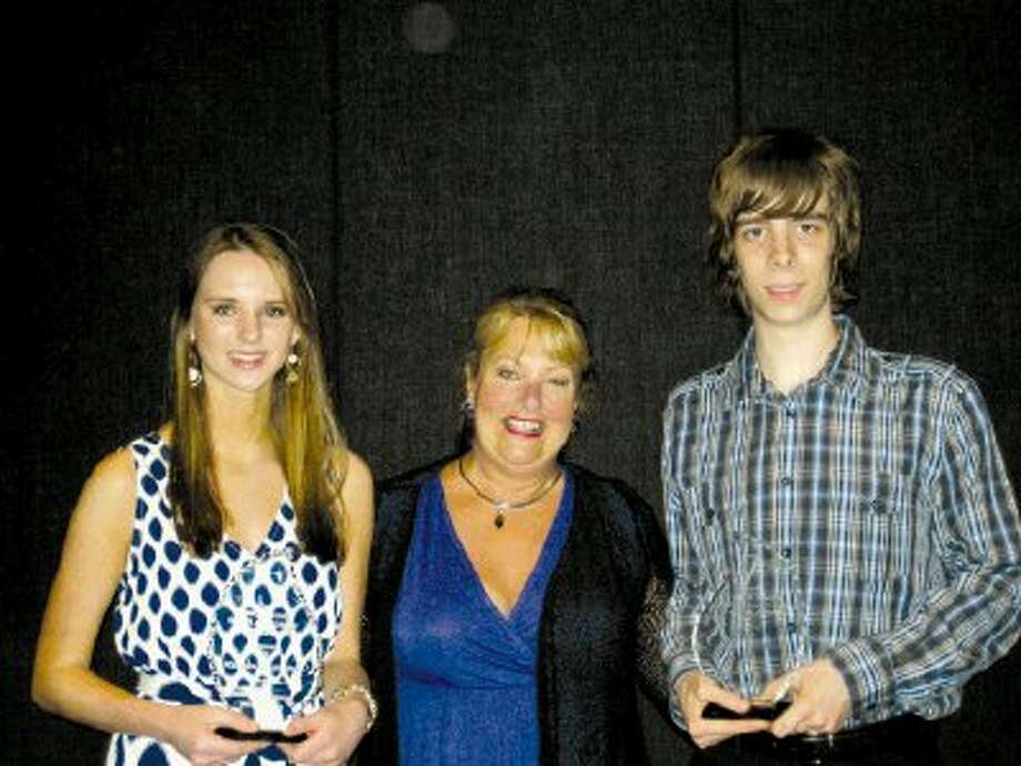 Pictured from left to right are Victoria Anderson, Connie Jones and Kie Hankins (Preston Bounds not pictured).