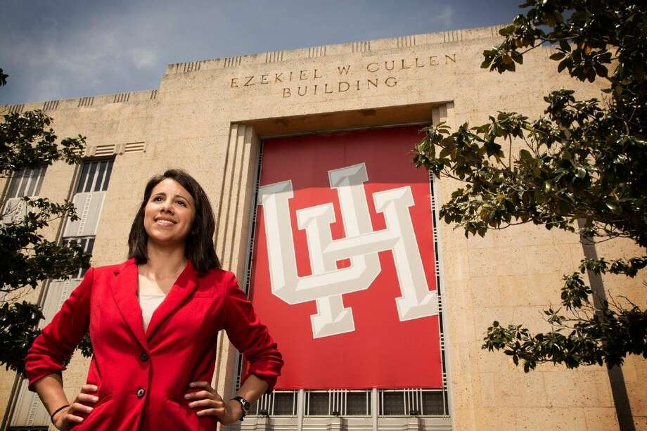 """UH student and Pearland native Vanessa Alejandro has been named to Glamour Magazine's """"Top 10 College Women."""" Alejandro is only the second UH student to earn this honor. Photo: Courtesy UH"""