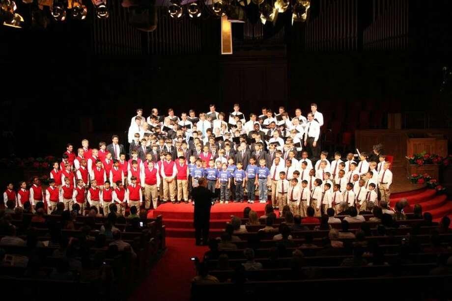 The Fort Bend Boys Choir in concert. Photo: Photo Courtesy Fort Bend Boys Choir