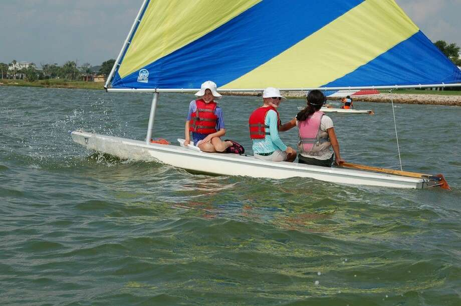 Basic Sailing is just one of the myriad of sessions being offered at Girl Scout Resident Camp this summer. Girls in grades 6-12 will learn how to rig a sailboat, forecast the weather and sail safely on the open water. Every girl in southeast Texas, ages 6-17, can spend a week at GSSJC's resident camps this summer - they do not have to be a current member of Girl Scouts. For more information, visit www.gssjc.org/residentcamp. Photo: Submitted