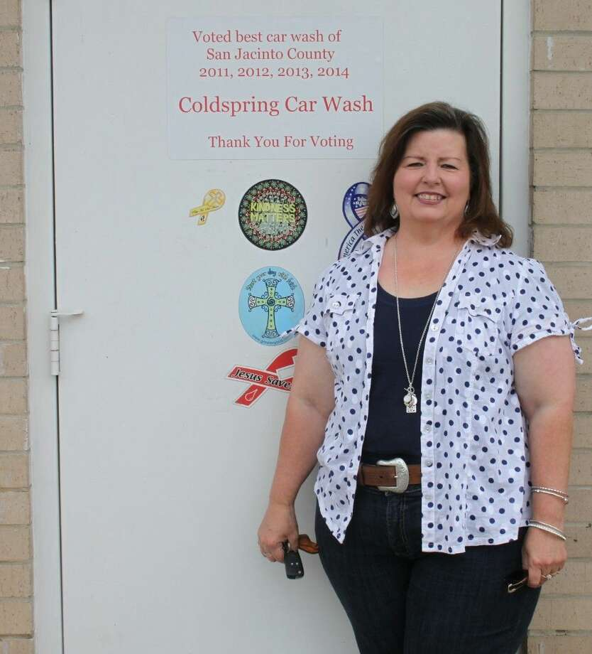 Angela McCoppin has been very involved with her family and her community. She has become the recent owner of the Coldspring Car Wash, which has won the Best Car Wash of San Jacinto County Award for the past four years. Photo: Jacob McAdams