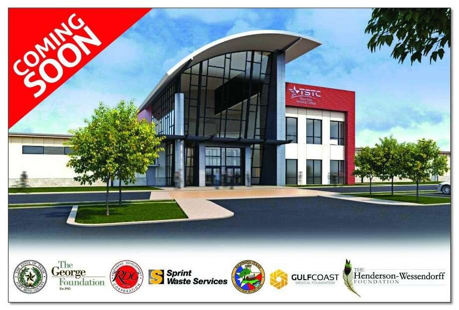 Artist's rendering of proposed new Texas State Technical College Fort Bend County campus