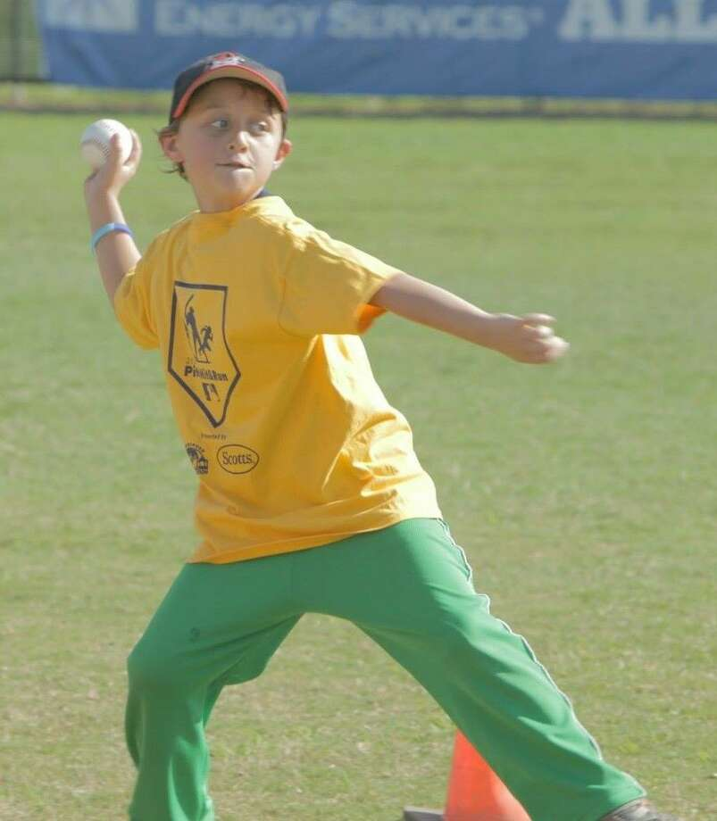 Boys and girls ages 7 to 14 can compete in Wednesday's Pitch, Hit and Run competition at Renwick Park in Friendswood.
