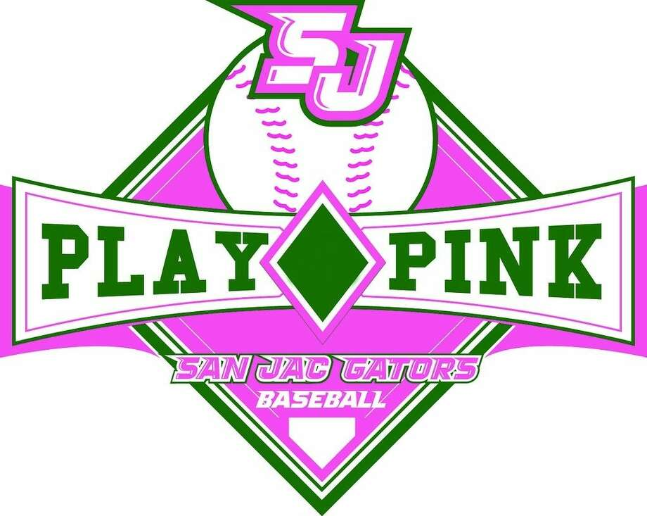San Jacinto College's Play Pink baseball game on April 2 will help raise funds for Angel Flight South Central, an organization that helps breast cancer patients.