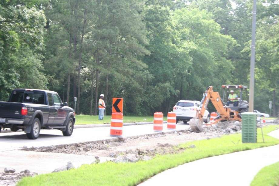 One of the improvements the city of Houston has already started on includes fixing large portions of concrete sections along Kingwood Drive where large holes and potholes have occurred. Lanes are intermittently closed as they work on this project through May 9, 2015.