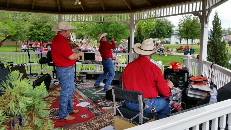 Jeff Woolsey and the Dance Hall Kings headlined the recent Tomball Honky Tonk Music Festival. Photo: Submitted
