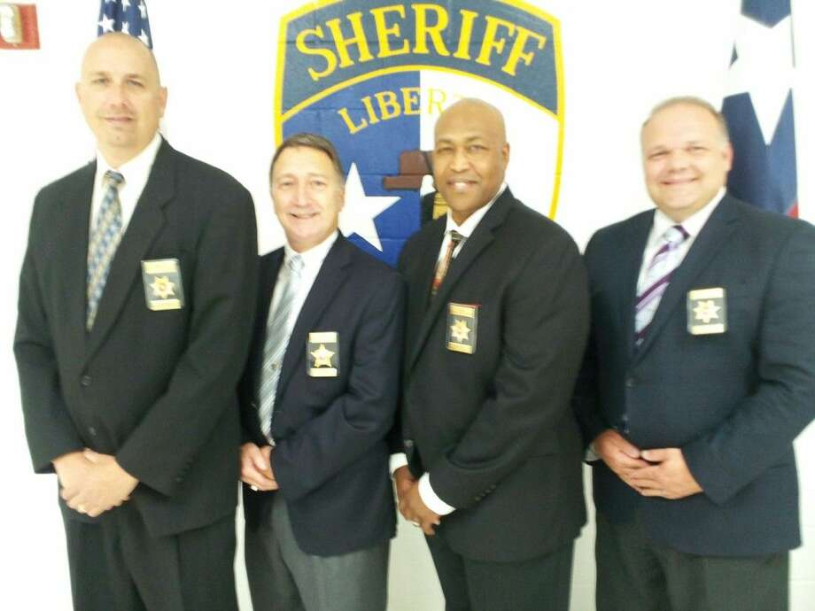 Chaplain Howie Howeth, Chaplain Ted Smith, Chaplain Delmar Coward, Chaplain Kevin Howard are serving as volunteer chaplains for the Liberty County Sheriff's Office Family Assistance Unit.
