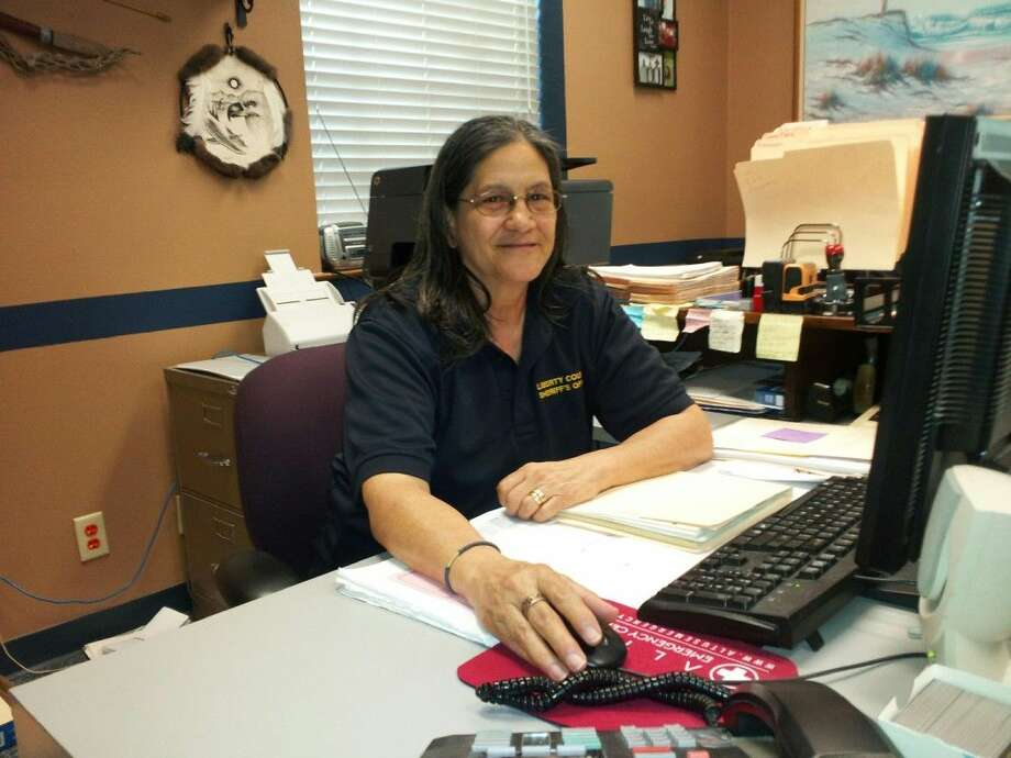 Pat Garpne is the supervisor of the Civil Division for the Liberty County Sheriff's Office. She works out of the Dayton annex office. Photo: Submitted