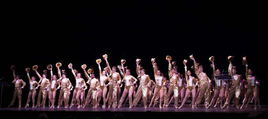 The Kinkaid School's A Chorus Line cast performance (Best Musical).