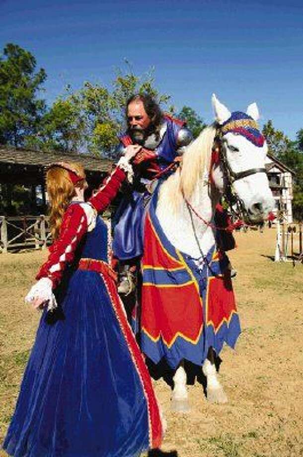 "The Texas Renaissance Festival is in a celebratory mood over winning the number one spot in USA Today's list of ""Best Cultural Festivals"", and to thank supporters of the Texas Renaissance Festival for the winning votes, the King has issued a proclamation that May 2 will mark the Ticket Sale of the Century. Photo: Steven David Johnson"